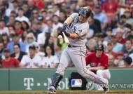 탬파베이 최지만, 보스턴전 6경기 연속 안타…타율 0.283