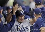 탬파베이 최지만, 시즌 8호 홈런 작렬…대타 출전해 맹활약