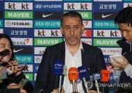 벤투 감독, 월드컵 여정 시작…2차예선 조추첨 위해 출국