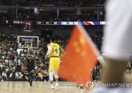 중국서 열린 NBA 시범경기 기자회견 취소 '홍콩 질문 나올라'