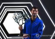 조코비치, 샤포발로프 꺾고 ATP 투어 파리 마스터스 우승