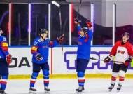 남자 아이스하키, 국내 선수만으로 일본에 5-2 완승