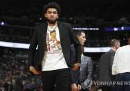 NBA 미네소타 타운스 '이적설'…골든스테이트·뉴욕 등 눈독