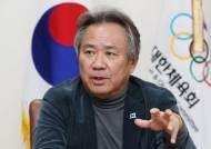 """이기흥 체육회장 """"체육인 교육센터 착공…교육 통한 변화 중요"""""""