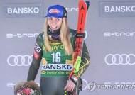 시프린, 월드컵 스키 여자 활강 우승…통산 65승째