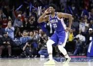 NBA 경기 도중 손가락 욕설한 엠비드, 벌금 3천만원