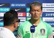 """국가대표 골키퍼 구성윤, 갑상샘 항진증 진단…""""어서 회복할 것"""""""