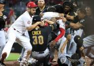 MLB 사무국, 코로나19 확산 막고자 '집단 난투극' 중징계