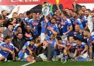 나폴리, 유벤투스 꺾고 6년 만에 코파이탈리아 우승