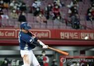 '18안타' NC, KIA 대파…창단 첫 정규시즌 우승 '눈앞'