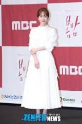 [HD스압포토] '봄밤' 한지민, '소지민의 소심한 손하트'(제작발표회)