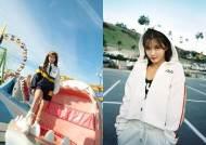 김유정, 힙 폭발 봄 패션 제안...휠라 2020 스프링 헤리티지 컬렉션