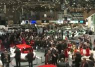제네바모터쇼에 부는 친환경 바람…유럽 공략에 박차