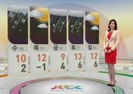 [날씨] 낮부터 기온 오르며 눈·비