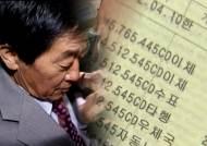 """[단독] """"노건평씨, KEP 계좌 2개 사용해 8억원 빼내"""""""