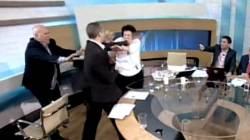 [생생지구촌] '막장' 그리스 정치인, 여성에게 주먹질