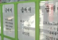 [J머니클립] 강남 재건축 아파트값, 금융위기 수준 추락