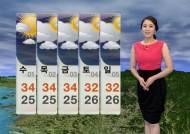 [날씨] 출근길 소나기…폭염 계속