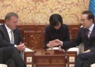 MB, 라스무센 전 총리와 면담…GGGI 발전 방향 논의