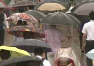 덴빈 영향권 서울 빗줄기 굵어져…저녁 무렵 관통할 듯