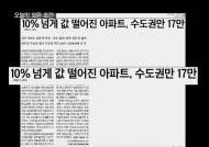 [신문읽기] 10% 이상 급락 아파트 수도권에만 '17만'