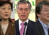 """""""김정은 만날 것"""" """"무상 보육""""…빅3 정책공약 발표 경쟁"""