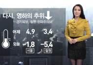[날씨] 초겨울 추위…제주 한때 비