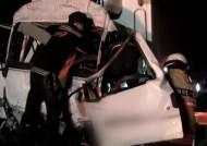 고속도로 화물차 두대 추돌…뒷차량 운전자 1명 사망