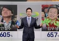 '태풍의 눈' 국회 입성 안철수·김무성 의원, 첫날 표정은