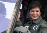 박 대통령, 국내기술 개발 '수리온' 실전배치 행사 참석