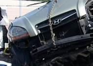진주서 승용차 추돌사고…운전자 등 4명 사망·2명 부상