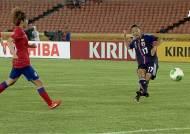 [동아시안컵] '일본 여자축구 간판' 오기미 유키, 추격골