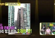 중국 고층 아파트 사이 50m 인공산 등장…대박난 이유?