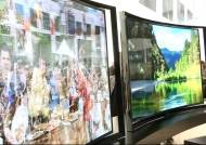 활처럼 휜 초고화질 TV '놀라워'…시장 주도한 삼성·LG