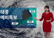 [오늘 날씨] 태풍 다나스 예상경로, 남부지방 영향권