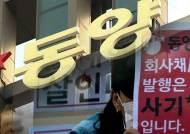 동양그룹 계열사 5곳 법정관리…노조·투자자 반발