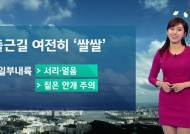 [날씨] 아침 여전히 '쌀쌀'…낮부터 추위 풀려
