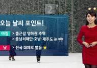 [날씨] 영하권 추위 계속…충청·호남 일부 눈