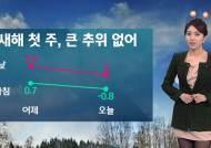 [날씨] 새해 첫 주 비교적 포근…곳곳 옅은 황사