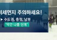 [날씨] 서울 등 일부 눈발…밤부터 다시 한파