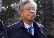'배임 혐의' 이석채 전 KT회장, 법원 출석…구속 곧 결정