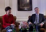 박 대통령, 스위스 대통령과 회담…'창조경제' 협력 논의