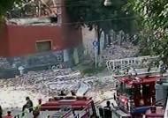 아르헨 수도 창고서 대형 화재 발생…소방관 6명 참변
