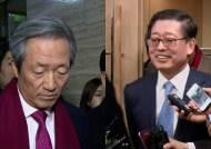 정몽준 vs 김황식 … 친이·친박 대리전으로 번지나