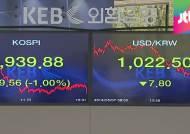 원·달러 환율 1,020원대로 곤두박질…수출기업 '비상'