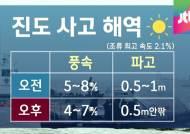 [날씨] 절기상 '소만'…진도 사고 해역 맑음