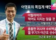 '갓'영표 월드컵 쪽집게 예언 화제, 역대 발언 모아보니…