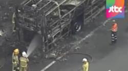호주서 스쿨버스 화재…61명 학생 전원 하차 후 폭발