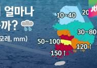 [날씨] 전국 비…전남 최고 150mm 집중호우