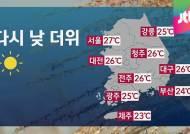 [날씨] 중부 오후 늦더위…남부 흐림
